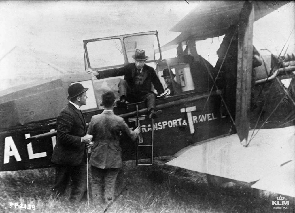 primul_pasager_olandez_KLM