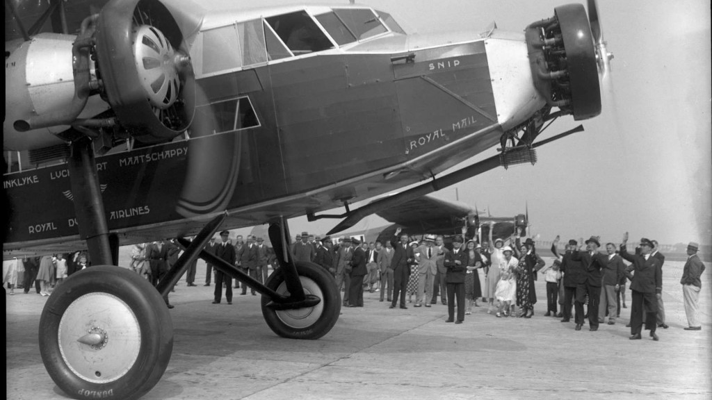 primul_zbor_transatlantic_KLM