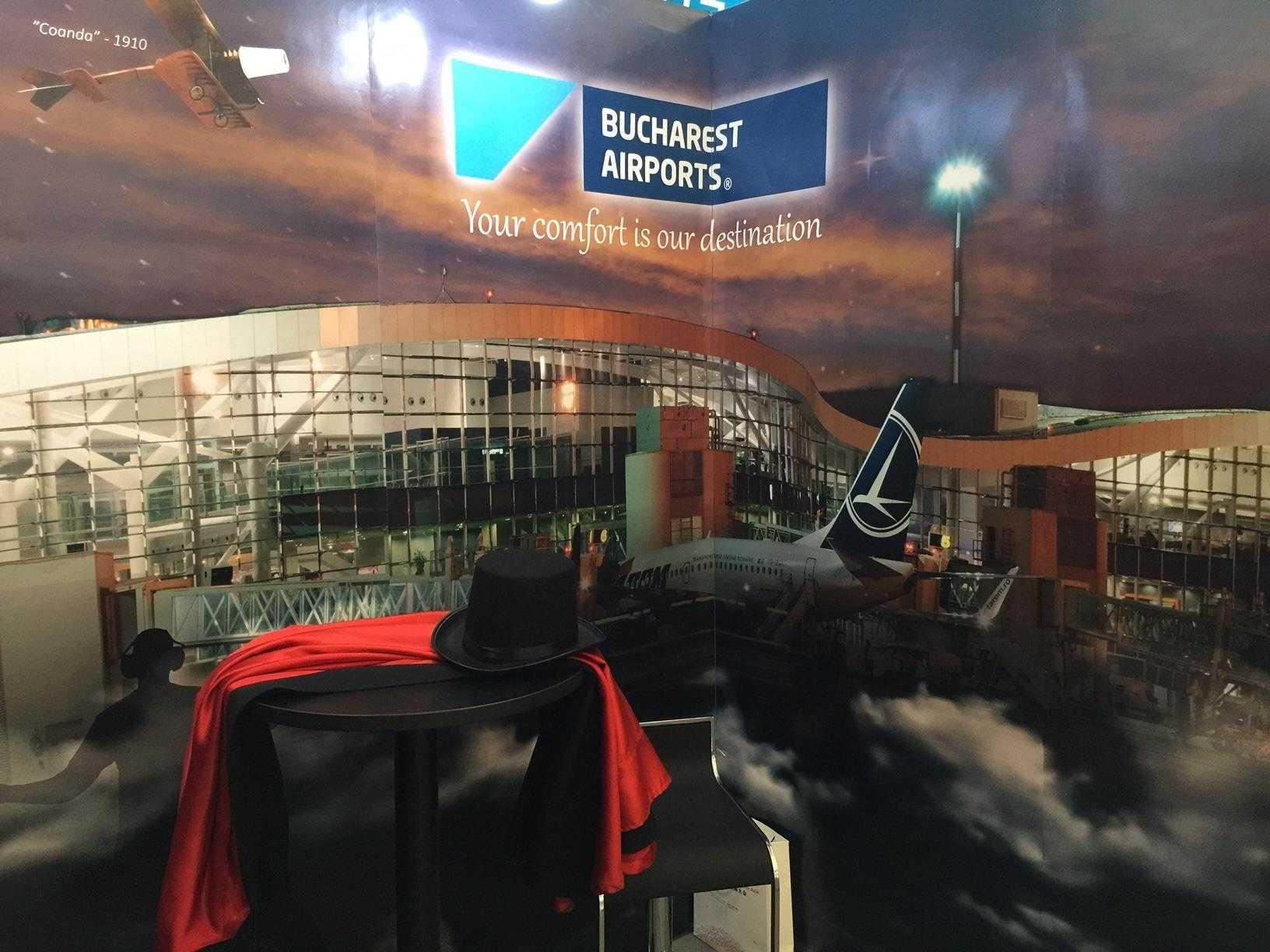 stand de prezentare Aeroport Henri Coanda