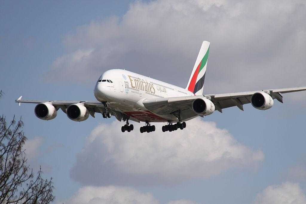 Airbus A380-Emirates