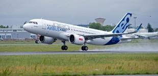 (Video) Airbus A320neo cu motoare LEAP- 1A a operat primul zbor