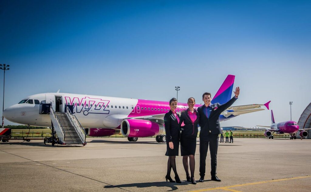 noul livery wizz air