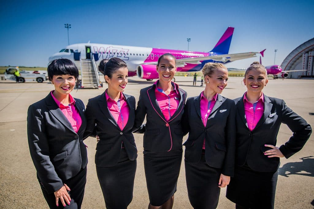 New wizz air uniform