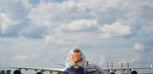 "(Video) Boeing 747-400 Transaero Airlines în livery ""Tigru Siberian"""