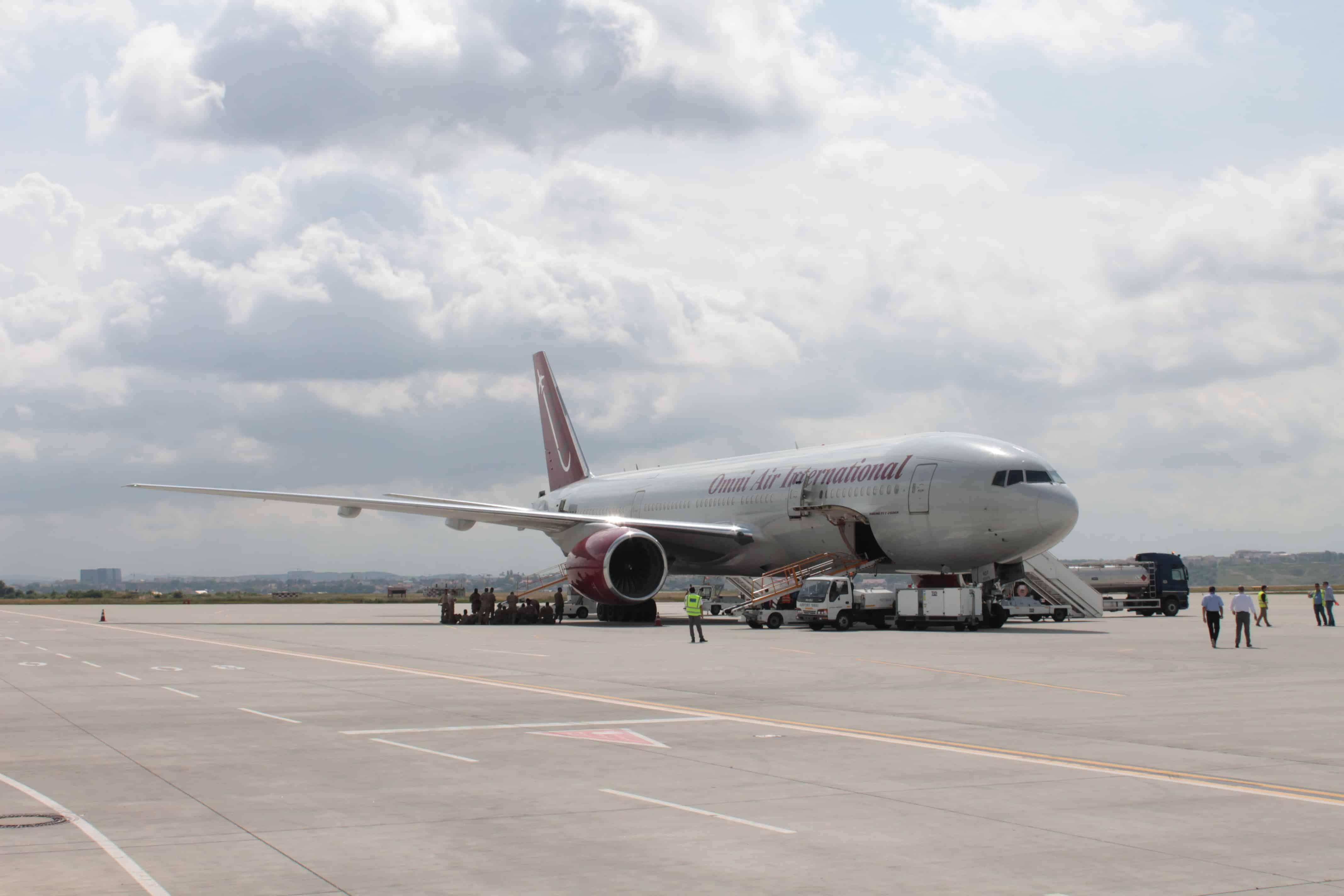 Boeing 777-200-2ER Sibiu