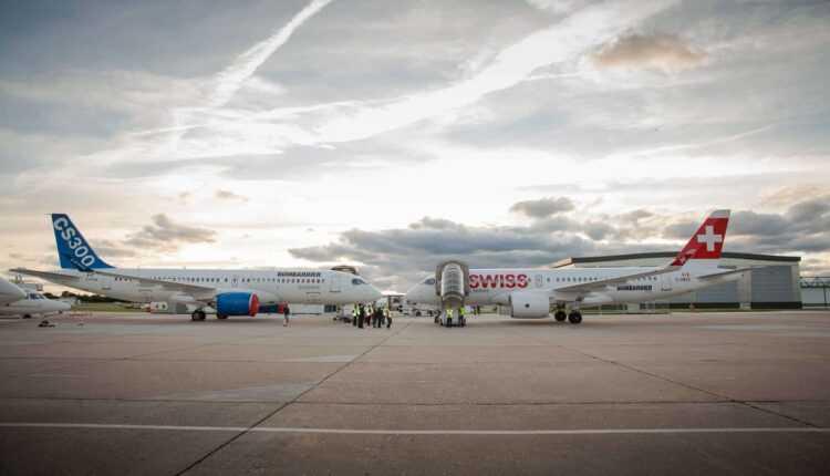 (Video) Bombardier participă cu aeronavele CS100 şi CS300 la Paris Air Show 2015