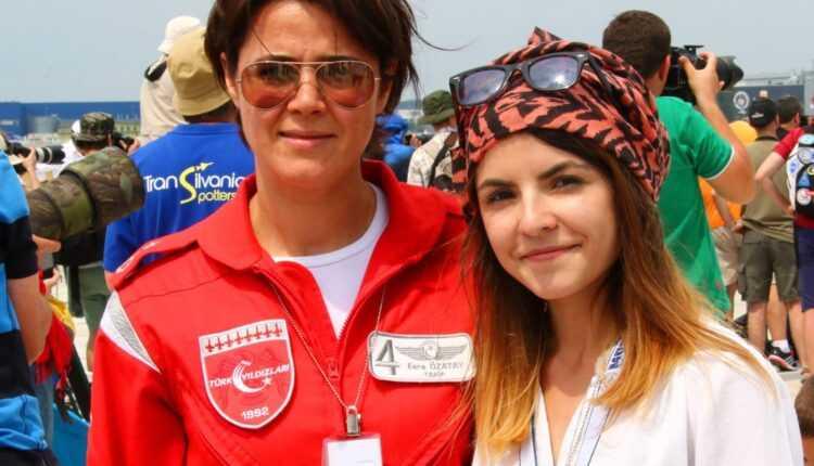 #BIAS2015 – Despre prima femeie pilot din Turkish Stars