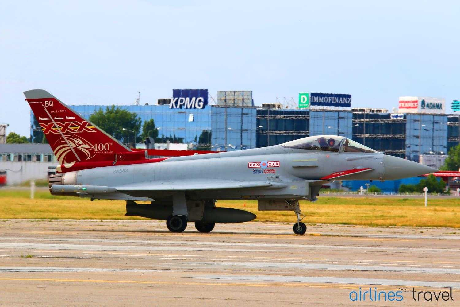Eurofighter Typhoon - livery aniversar