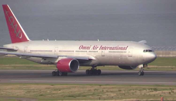 PREMIERĂ: Boeing 777-200ER pe Aeroportul Internaţional SIBIU
