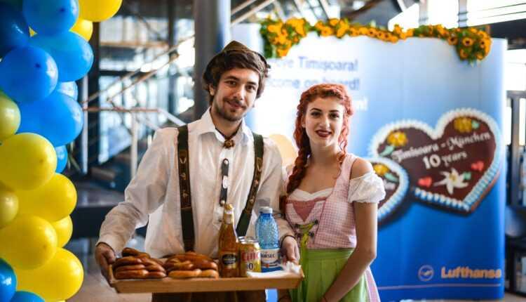 Timişoara – Munchen de 10 ani cu Lufthansa
