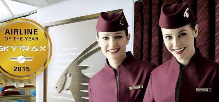 Qatar Airways desemnată cea mai bună companie aeriană în 2015 de către Skytrax