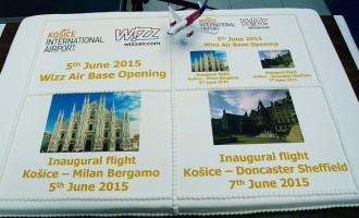 Wizz Air a inaugurat a 20-a bază, la Kosice, Slovacia