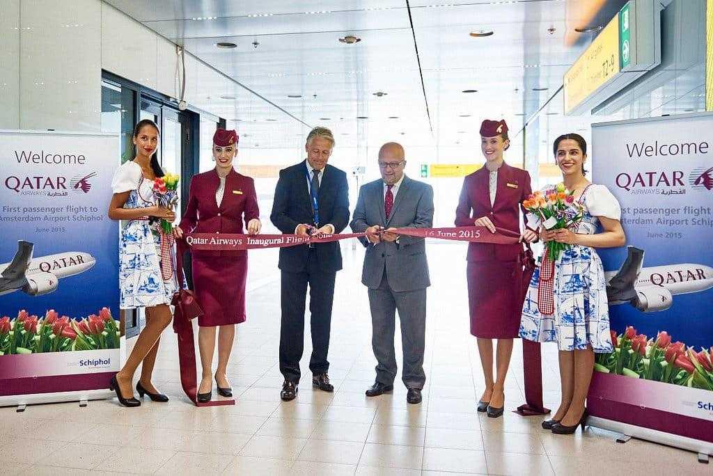 Doha-Qatar Airways Amsterdam-1