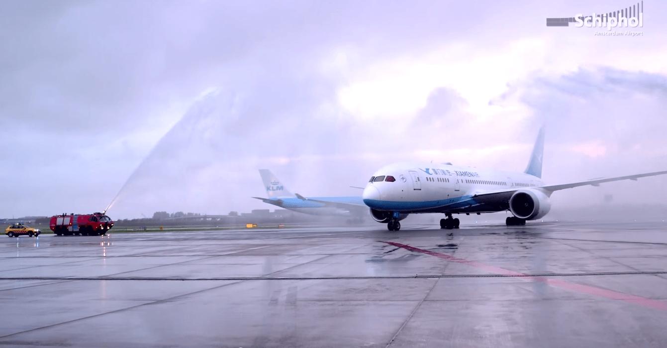 Xiamen-Airlines-Amsterdam-zborul-inaugural