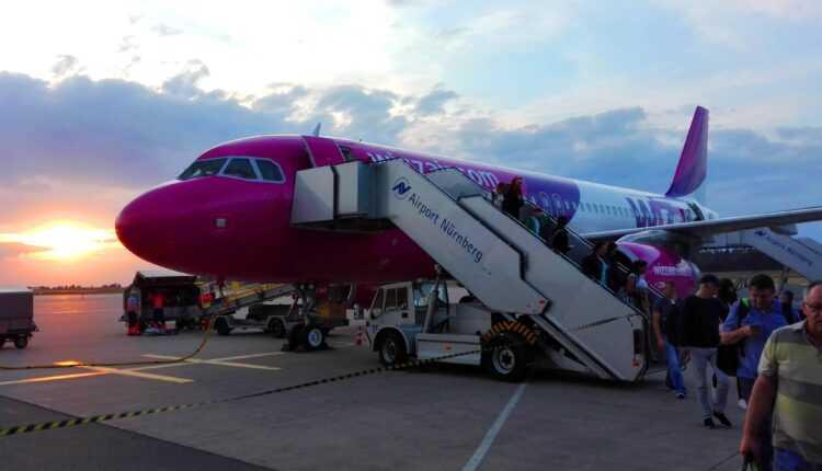 (Video) Bucureşti – Nürnberg cu Wizz Air – aterizarea la Nürnberg