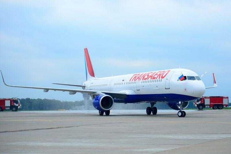 Авиакомпания Трансаэро Airbus A321