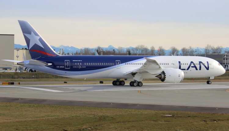 LAN Airlines va zbura cu Boeing 787-9 la Milano