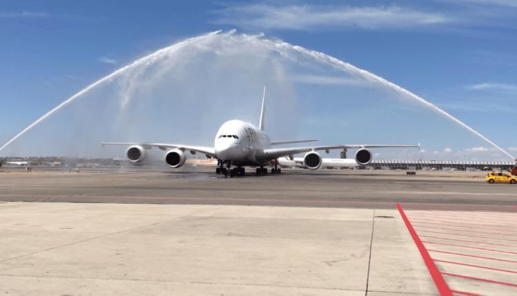 (Video) Dubai – Madrid cu Airbus A380 Emirates – inaugurarea rutei