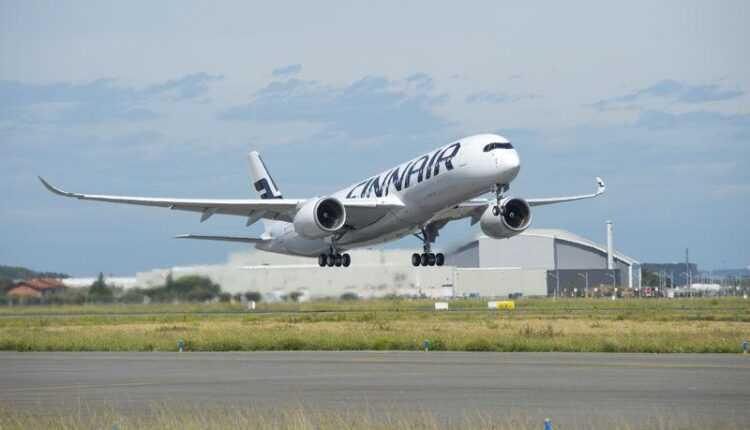 (Video) Primul Airbus A350-900 XWB Finnair la primul zbor