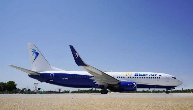 Blue Air: baza Bucureşti – rutele noi operate în orarul de vară 2016