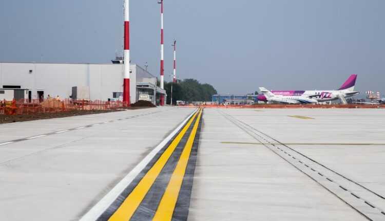 Noua platformă a aeroportului IAŞI este operaţională