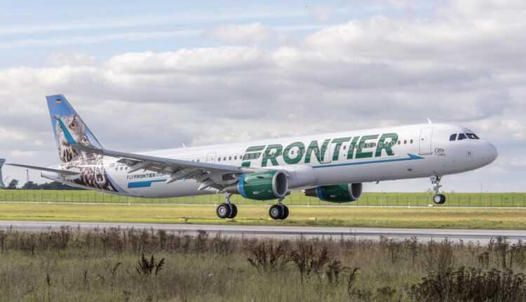 Frontier Airlines a intrat în posesia primului Airbus A321 din flotă
