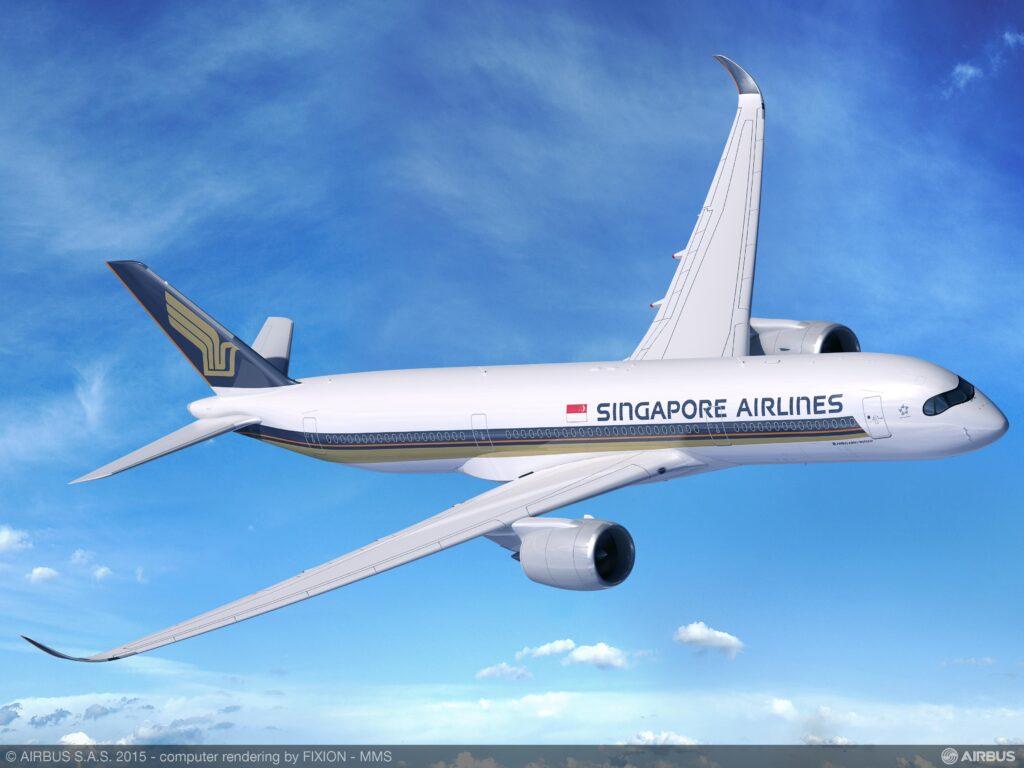 Обои авиалайнер, Singapore airlines, airbus, Самолёт, 300. Авиация foto 12
