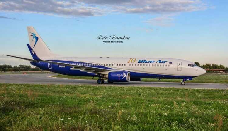 Venituri importante înregistrate de Blue Air din bazele externe (Torino şi Larnaca)