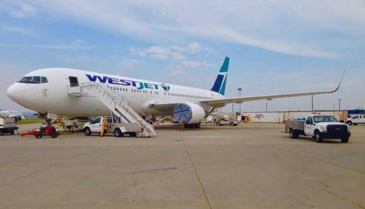 Westjet a recepţionat primul Boeing 767-300ER şi a operat primul zbor comercial