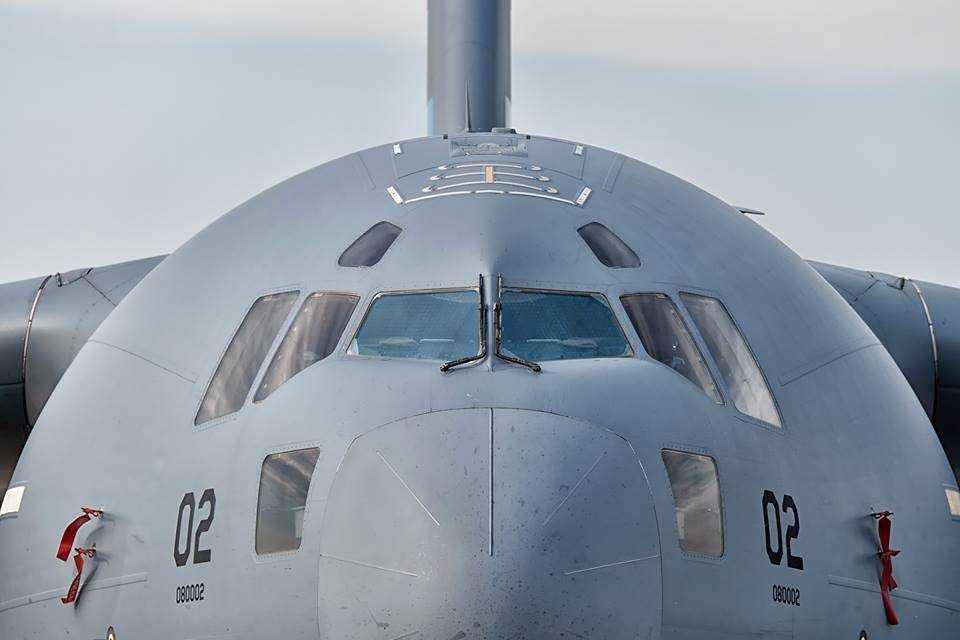 Boeing Globemaster C-17-2-Cluj