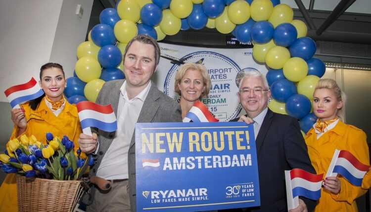 (Video) Ryanair la Amsterdam, din 27 octombrie 2015