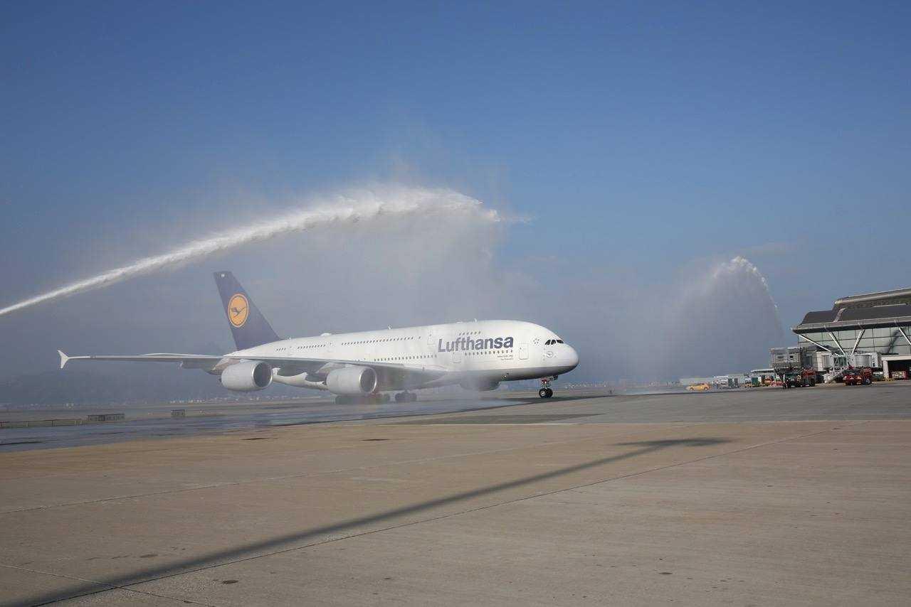 Frankfurt Hong Kong A380-Lufthansa-1
