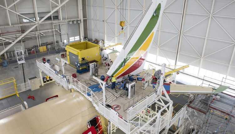 Primul Airbus A350 XWB Ethiopian Airlines prinde contur