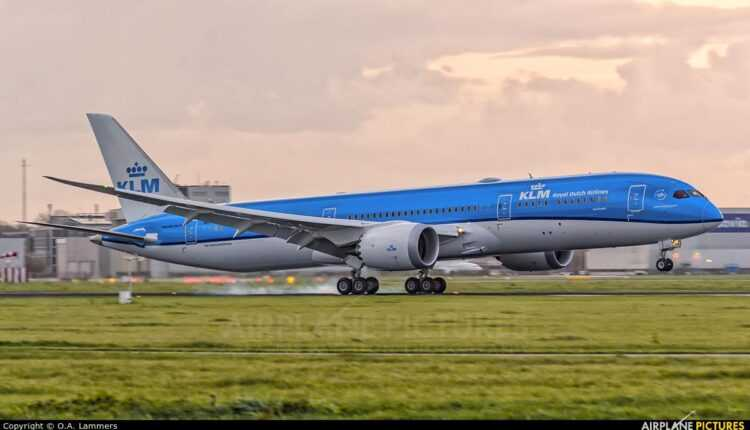 (Video) Touchdown: Boeing 787-9 Dreamliner KLM la Amsterdam