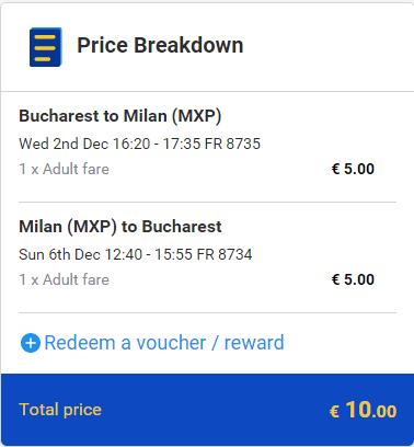 Bucuresti-Milano-10-EURO