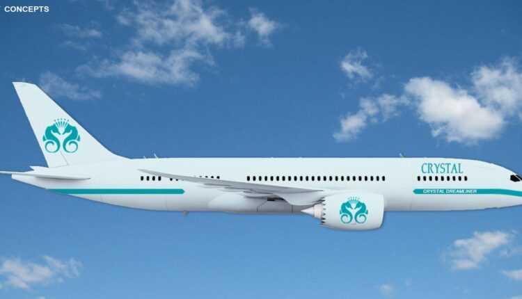 Crystal Luxury Air va opera un Boeing 777-200LR – croaziere aeriene de lux