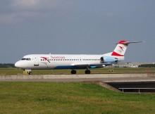 OE-LVB_Austrian_Airlines_Fokker_F100