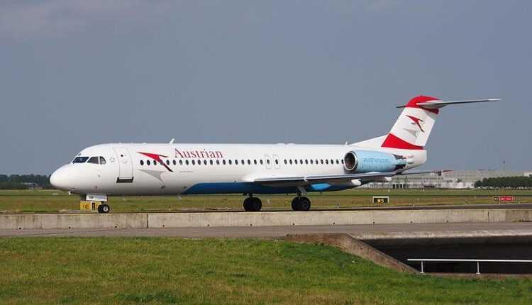 Austrian Airlines vinde flota de aeronave Fokker