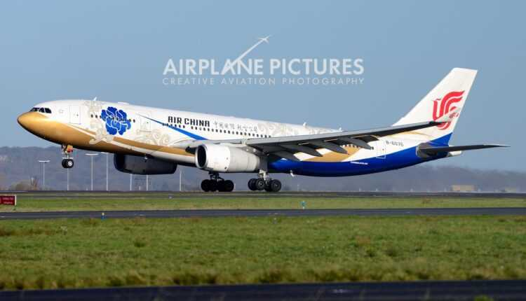 Chengdu – Paris cu Air China, din 12 decembrie 2015