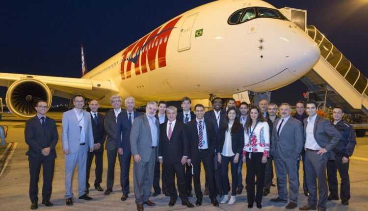 (Video) Airbus a livrat primul Airbus A350 XWB TAM Airlines