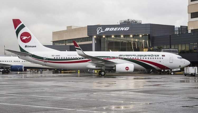 Biman Bangladesh Airlines a recepţionat primul 737-800 NG livrat de Boeing