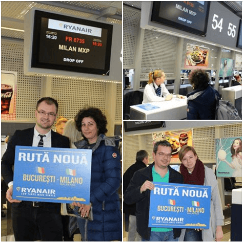 Bukarest-Mailand-Malpensa, Ryanair-1