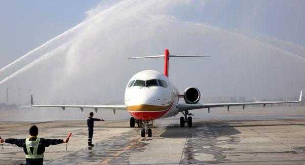 Chengdu Airlines a recepţionat primul Comac ARJ21-700