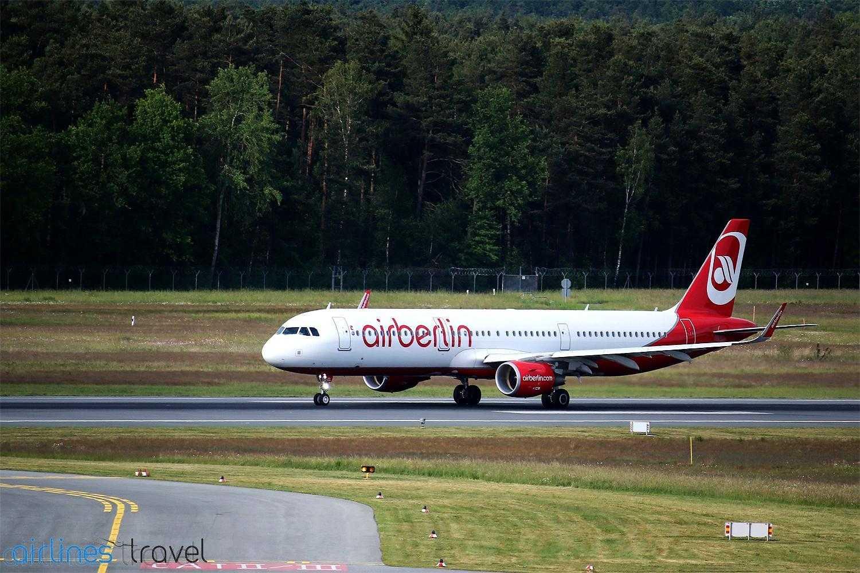 AirBerlin renunță la ruta București – Berlin Tegel, din 25 februarie 2017