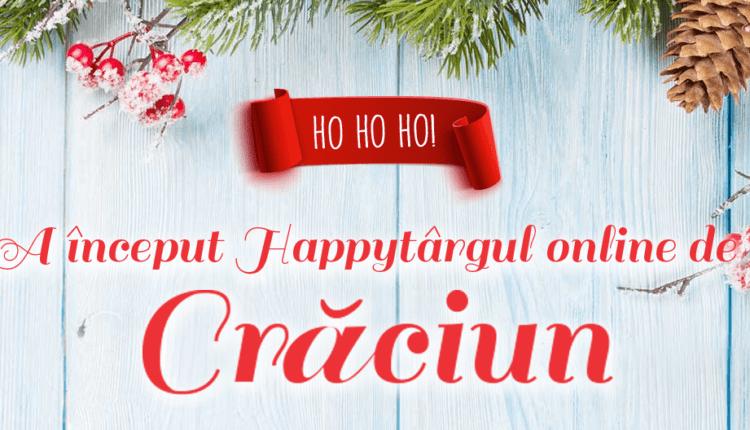 HAPPYtârgul Online de Crăciun cu oferte Last Minute pentru sărbători