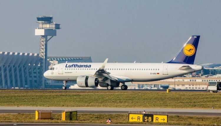 (Video) Airbus A320neo Lufthansa la Frankfurt