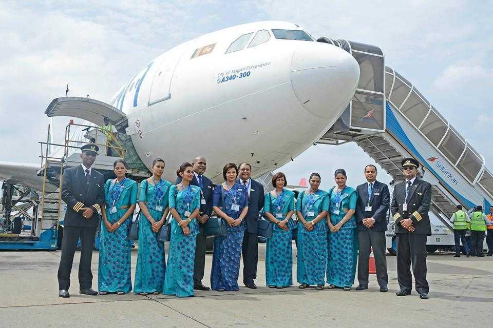 A340-SriLankan Airlines--1