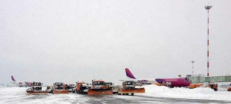 Compania Naţională Aeroporturi Bucureşti anunţă zboruri anulate: spre/din Frankfurt, Istanbul, Moscova şi Milano