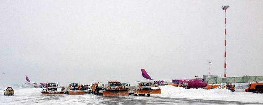 Aeroport-Otopeni-conditii-iarna