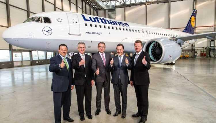 Lufthansa a recepţionat primul Airbus A320neo